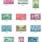 YS1945  (927-38) 12 Stamps - Complete 1945 Commemorative Year Set