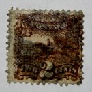 U.S. #113 - 1869 2¢ Pony Express Rider Pictorial