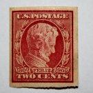 U.S. Cat. # 368 - 1909 2¢ Lincoln Memorial Issue, carmine