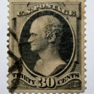 U.S. Cat. # 165 - 1873 30c Hamilton, gray black