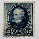 U.S. #227 - 1890 15c Henry Clay, indigo