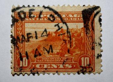 U.S. Cat. # 400A -1913 10c San Francisco Bay