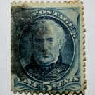 U.S. Cat. # 179 - 1875 5c Zachary Taylor, blue