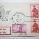 First Day of Issue - 15 cent Certified Mail 1955