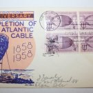 First Day of Issue - Completion of the Atlantic Cable 1958