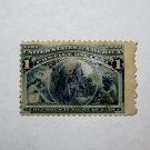 U.S. Cat. # 230 - 1893 1 cent Columbus in Sight of Land