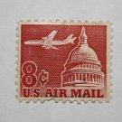 U.S. Cat. # C65 - 1962 8c Plane & Capitol