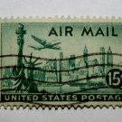 1-U.S. Cat. # C35 - 1947 15c New York Skyline
