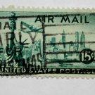 4-U.S. Cat. # C35 - 1947 15c New York Skyline