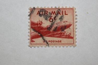 2-U.S. Cat. # C39 - 1949 6c DC-4 Skymaster