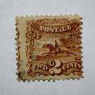U.S. Cat. # 113 - 1869 2¢ Pony Express Rider Pictorial