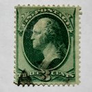 U.S. Cat. # 136 - 1870-71 3 cent Washington