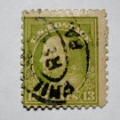 U.S. Cat. # 513 - 1919 13c Franklin, apple green