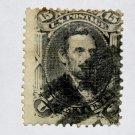 U.S. Cat. # 77- 1866 15c Lincoln, black