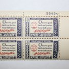 U.S. #1139 - Plate Block - 1960 4c American Credo, G. Washington