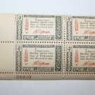 U.S. #1141 - Plate Block - 1960 4c American Credo - T. Jefferson