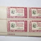 U.S. #1143 - Plate Block - 1960 4c American Credo - A. Lincoln