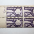 U.S. #1173 - Plate Block - 1960 4c Echo I - Communications for Peace