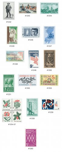 YS1964 Commemorative Year Set