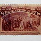 U.S. # 236 - 1893 8c Restored to Favor
