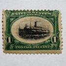 U.S. Cat. # 294 - 1901 1c Fast Lake Navigation