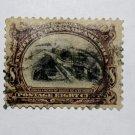 U.S. Cat. # 298 - 1901 8c Canal Sault Ste Marie