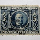 3-U.S. # 326 - 1904 5¢ McKinley Louisiana Purchase Commemorative