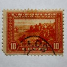 2-U.S. # 400 - 1913 10c San Francisco Bay