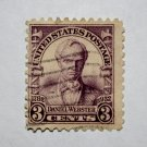 U.S. Cat. # 725 - 1932 3c Daniel Webster