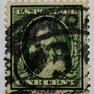 U.S. Cat. # 331 - 1908 1c Franklin, DL Wmrk