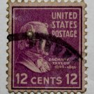 U.S. Cat. # 817 - 1938 Taylor 12c purple