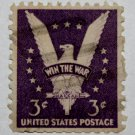 2-U.S. Cat. # 905 - 1942 3c Win the War