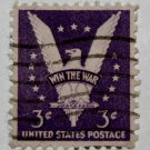 3-U.S. Cat. # 905 - 1942 3c Win the War