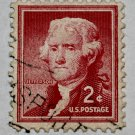 5-U.S. Cat. # 1033 - 1954 2c Thomas Jefferson
