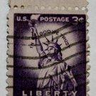 3-U.S. Cat. # 1035 - 1954 3c Statue of Liberty