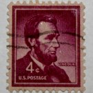 U.S. Cat. # 1036 - 1954 4c Abraham Lincoln