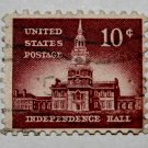 U.S. Cat. # 1044 - 1956 10c Independence Hall