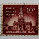3-U.S. Cat. # 1044 - 1956 10c Independence Hall