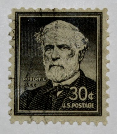 U.S. Cat. # 1049 - 1957 30c Robert E. Lee