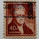U.S. Cat. # 1050 - 1958 40c John Marshall