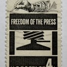 U.S. Cat. # 1119 - 1958 4c Freedom of Press