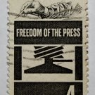 2-U.S. Cat. # 1119 - 1958 4c Freedom of Press
