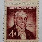 U.S. Cat. # 1138 - 1959 4c Dr. Ephraim McDowell