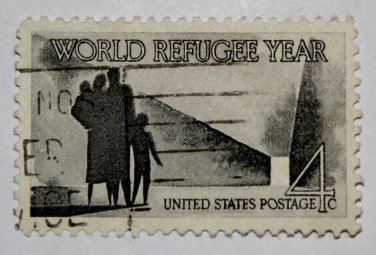 2-U.S. Cat. # 1149 - 1960 4c World Refugee Year