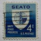 2-U.S. Cat. # 1151 - 1960 4c Seato