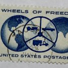U.S. Cat. # 1162 - 1960 4c Wheels of Freedom