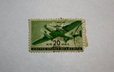 U.S. Cat. # C29 - 1941 20c Rotary Press
