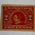 U.S. Cat. # 371 - 1909 2c Seward imperf carmine