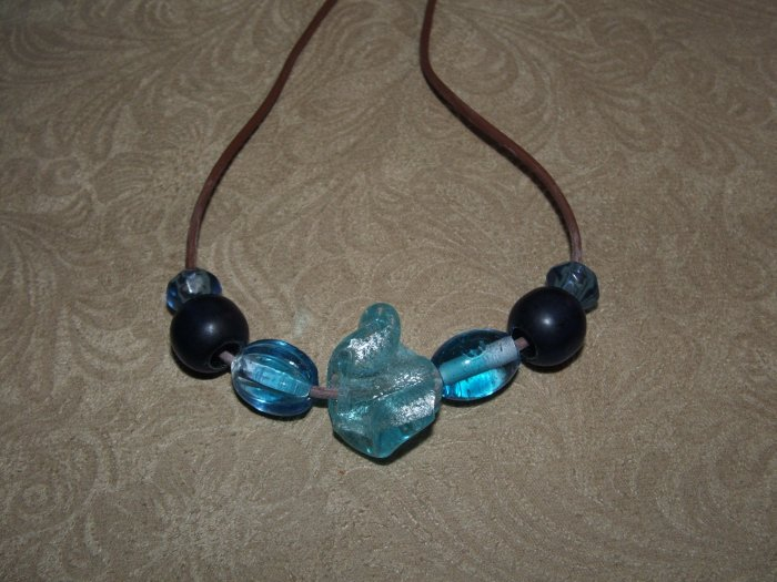 Blue Magma Nursing Necklace