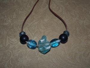 Blue Magma Nursing Necklace